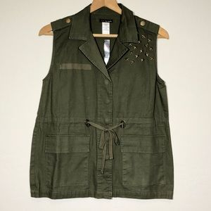 Fire Los Angeles Vest Army Green Small military